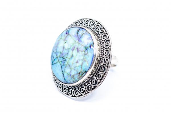 Inel din Argint cu Opal Imperial 0